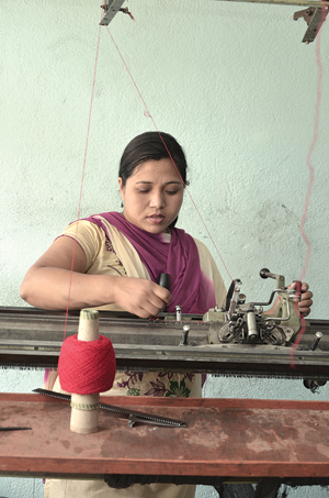 Fighting the odds ventureplus for Handicraft with waste